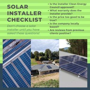 Ask these questions first when choosing a solar installer